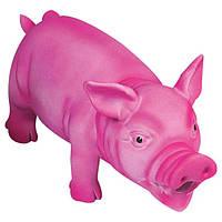 Flamingo Swine Pink ФЛАМІНГО іграшка для собак, порося реалістично хрюкаючий, рожевий, латекс