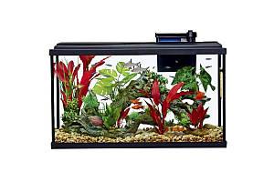 Resun STH-110 акваріум з фільтром і освітленням, 762x3316x457 мм, 109 літрів