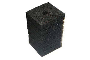 Resun Фильтрующий материал губка 10х10х15см, средне пористая, 35ppi