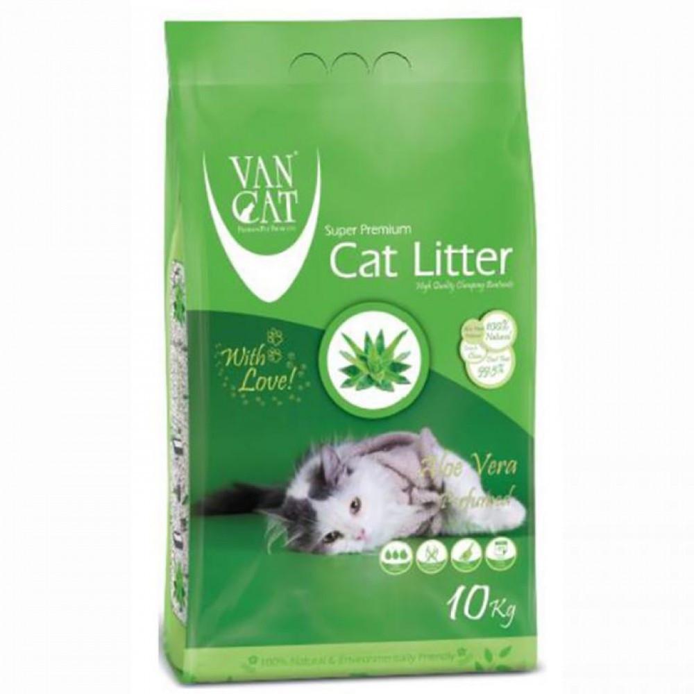 Van Cat Aloe Vera 5 кг - Бентонітовий наповнювач для туалету