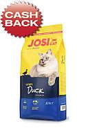 Корм Josera JosiCat Crispy Duck 10 кг для дорослих котів і кішок з качкою