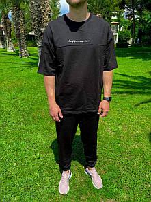 Мужской летний костюм футболка+штаны M