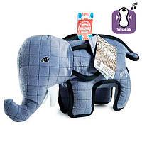 Flamingo Strong Elephant ФЛАМИНГО СЛОН суперпрочная мягкая игрушка для собак, 28х9,5х28 см 39х14х30 см