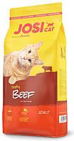 Josera JosiCat Tasty Beef 10 кг - корм для дорослих кішок з телятиною