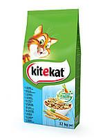 Kitekat Рыба с овощами 12 кг - Сухой корм для котов