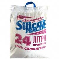 Наполнитель силиконовый для кошачьего туалета Silicat Practic 24 л 10 кг
