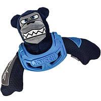 Joyser Squad Armored Bear ДЖОЙСЕР МЕДВЕДЬ В БРОНЕ игрушка для собак синий   32 см