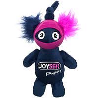 Joyser Puppy Squirrel with Helmet ДЖОЙСЕР БЕЛКА В ШЛЕМЕ мягкая игрушка для щенков синий   S   14 см