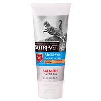 Nutri-Vet Multi-Vite НУТРИ-ВЕТ МУЛЬТИ-ВИТ комплекс витаминов и минералов для котов, гель, 89 мл