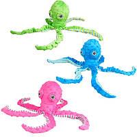 Flamingo Bubbly Plush Octopus ФЛАМИНГО ПЛЮШЕВЫЙ ОСЬМИНОГ мягкая игрушка для собак 0.12кг   12х8х39 см