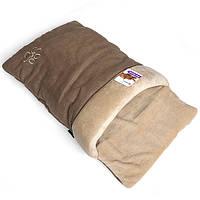 Flamingo Cat Bed Cocoon ФЛАМИНГО КЕТ БЕД спальное место для котов бежевый | 67х38х9 см