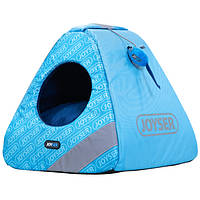 Joyser Chill Cat Home ДЖОЙСЕР домик для котов, игрушка мышка с кошачьей мятой голубой/синий | 40х40х41 см