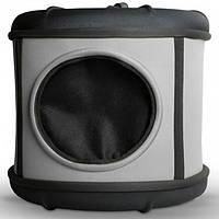 K&H Mod Capsule домик-переноска для собак и кошек серый/черный