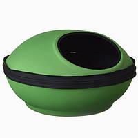 K&H Mod Dream Pod домик-лежак для котов зеленый/черный