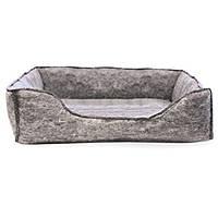 K&H Amazin` Kitty Lounge лежак для котов серый
