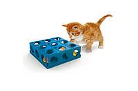 Игрушка Georplast Tricky с шариком для кошек, 25 × 25 × 9 см