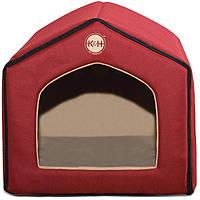 K&H Indoor Pet House домик для котов и собак малых пород красный | 41x38х36 см