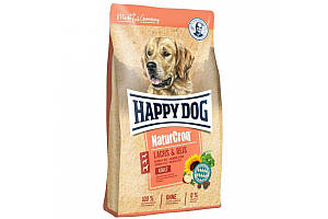 Сухой корм Happy Dog Adult NaturCroq 12 кг для взрослых собак с пищеварением, с лососем и рисом