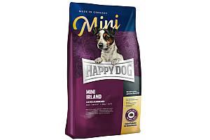 Корм Happy Dog Mini Irland 8 кг для собак мелких пород с проблемами кожи и шерсти, с лососем