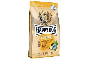 Корм Happy Dog NaturCroq Geflugel 15 кг для взрослых собак с чувствительным пищеварением, с птицей