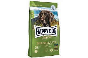 Сухий корм Happy Dog Neuseeland 4 кг для дорослих собак з чутливим травленням, з ягням