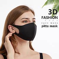 Защитная Маска Пита Питта Pitta Mask Fashion Многоразовая маска дайвинг унисекс чорный цвет. Купить