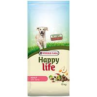 Happy Life Adult with Lamb ХЕППИ ЛАЙФ ЯГНЕНОК сухой премиум корм для собак средних и крупных пород