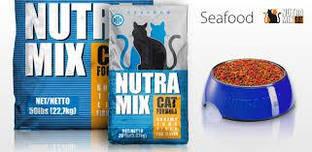 Корм Nutra Mix Seafood 9.07 кг для котів і кішок на основі риби