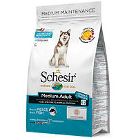 Schesir Dog Medium Adult Fish 12 кг сухий корм для собак середніх порід