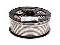 Лента светодиодная JL 2835-180 W 220В IP68 белый, герметичная Biom