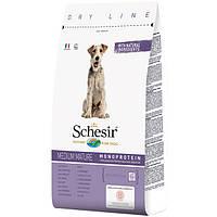 Schesir Dog Medium Mature 12 кг корм для літніх або малоактивних собак середніх порід