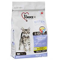 1st Choice Kitten Healthy Start 5.44 кг ФЕСТ ЧОЙС КОТЕНОК сухой супер премиум корм для котят