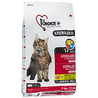 1st Choice Sterilized Chicken 5 кг Фест Чойс курица корм для кастрированных котов и стерилизованных кошек