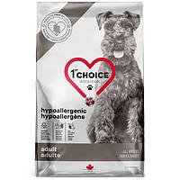 1st Choice Adult Hypoallergenic 11 кг  Гипоаллергенный с уткой и бататом  сухой супер премиум корм для собак