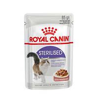 Royal Canin Sterilised 85 г х 12 - влажный корм для стерилизованных кошек от 1 до 7 лет