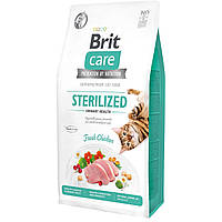 Brit Care Cat GF Sterilized Urinary Health 7 кг - Корм для стерилизованных котов