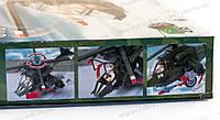 """Детский развивающий набор конструктор Brick 818 """"Вертолет военный"""" состоит из 275 деталей Отличный подарок"""