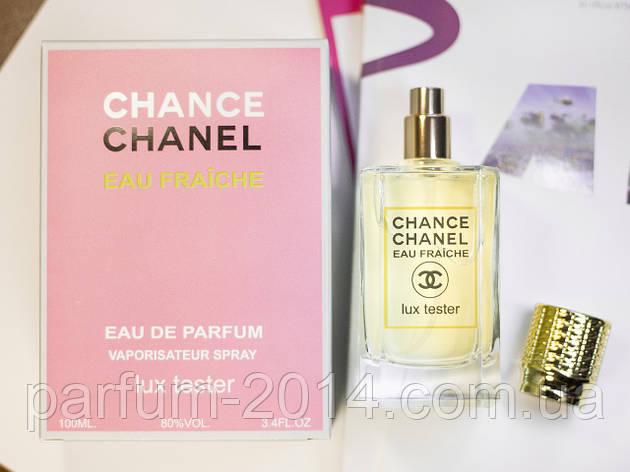 Жіночий аромат шанс еу фреш Chance Eau Fraiche 100 мл (осіб) парфуми парфуми запах тестер пробник tester, фото 2