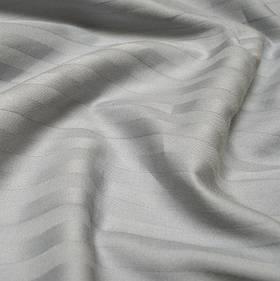 Наволочки Iris Home Отель - Сатин Страйп 1*1 серый 50*70 (2шт)