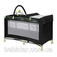 Кровать-манеж Lorelli Verona 2 Layers Plus для детей с рождения для отдыха и игры