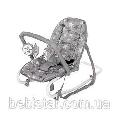 Шезлонг Lorelli Rock Star для малышей с рождения до 9 месяцев