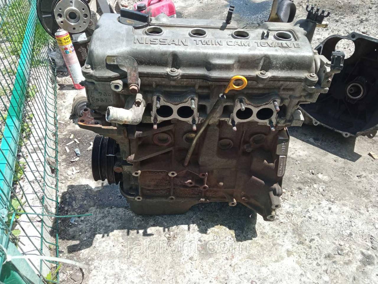 Мотор (Двигатель) Nissan Primera P10 1.6 бензин Ниссан Примера GA16 280979