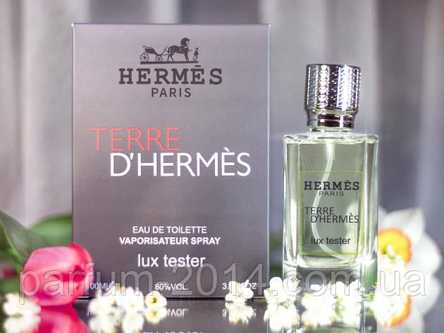 Мужской аромат терре Terre 100 ml (лиц) пробник запах духи тестер запах tester, фото 2