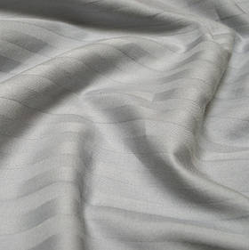 Наволочки Iris Home Отель - Сатин Страйп 1*1 серый 40*60 (2шт)