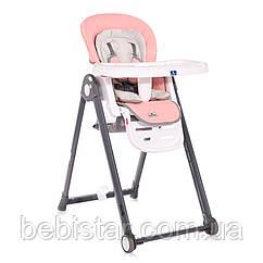 Стул для кормления Lorelli Party малышу от 6 месяцев до 3-х лет Розовый