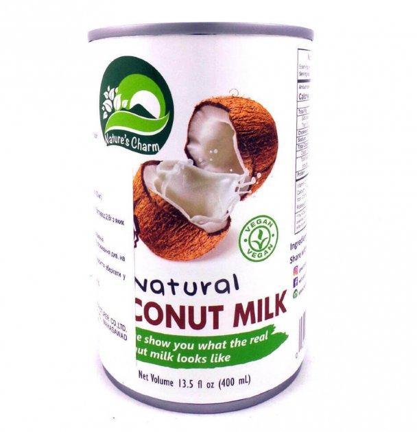 Молоко кокосове 400мл nature's Charm