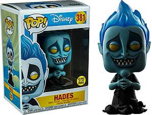 Фігурка Funko Pop Аїд Дісней Hades Disney 10см FP H GID 381