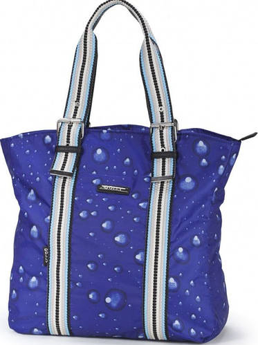 Женская яркая сумка из прочной болоньевой ткани Dolly (Долли) 458 синий