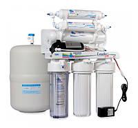 Фильтр для очистки воды - система обратного осмоса Leader Standard RO-6 pump МТ18, фото 1