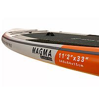 Сапборд Aqua Marina Magma 11'2 2021 - надувная доска для САП сёрфинга, sup board, фото 5